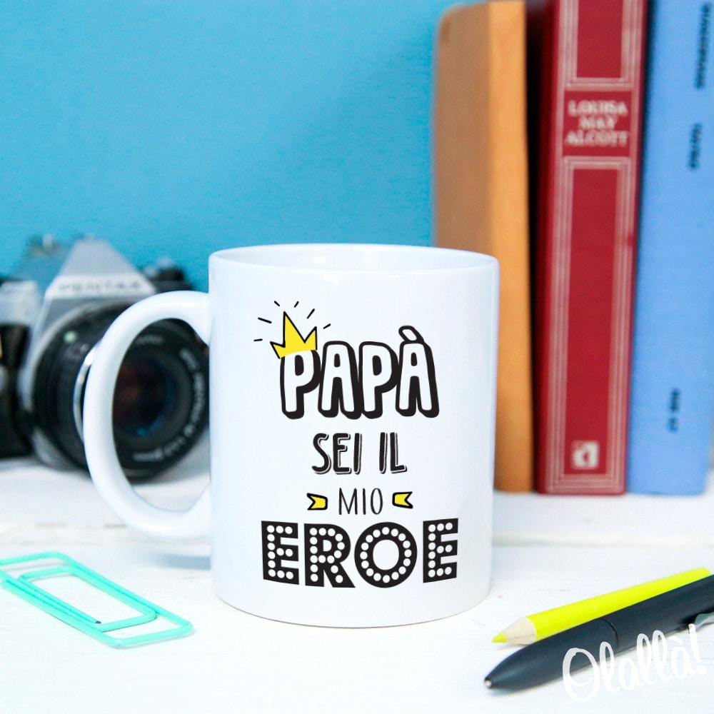tazza-papa-eroe-regalo-personalizzata