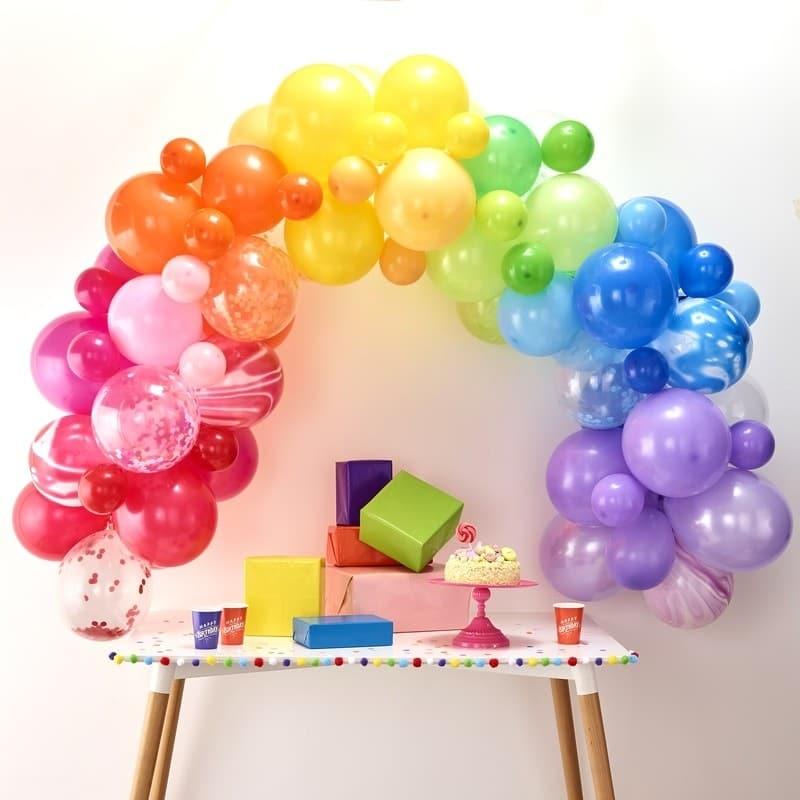 arco-palloncini-arcobaleno-compleanno-bambino1