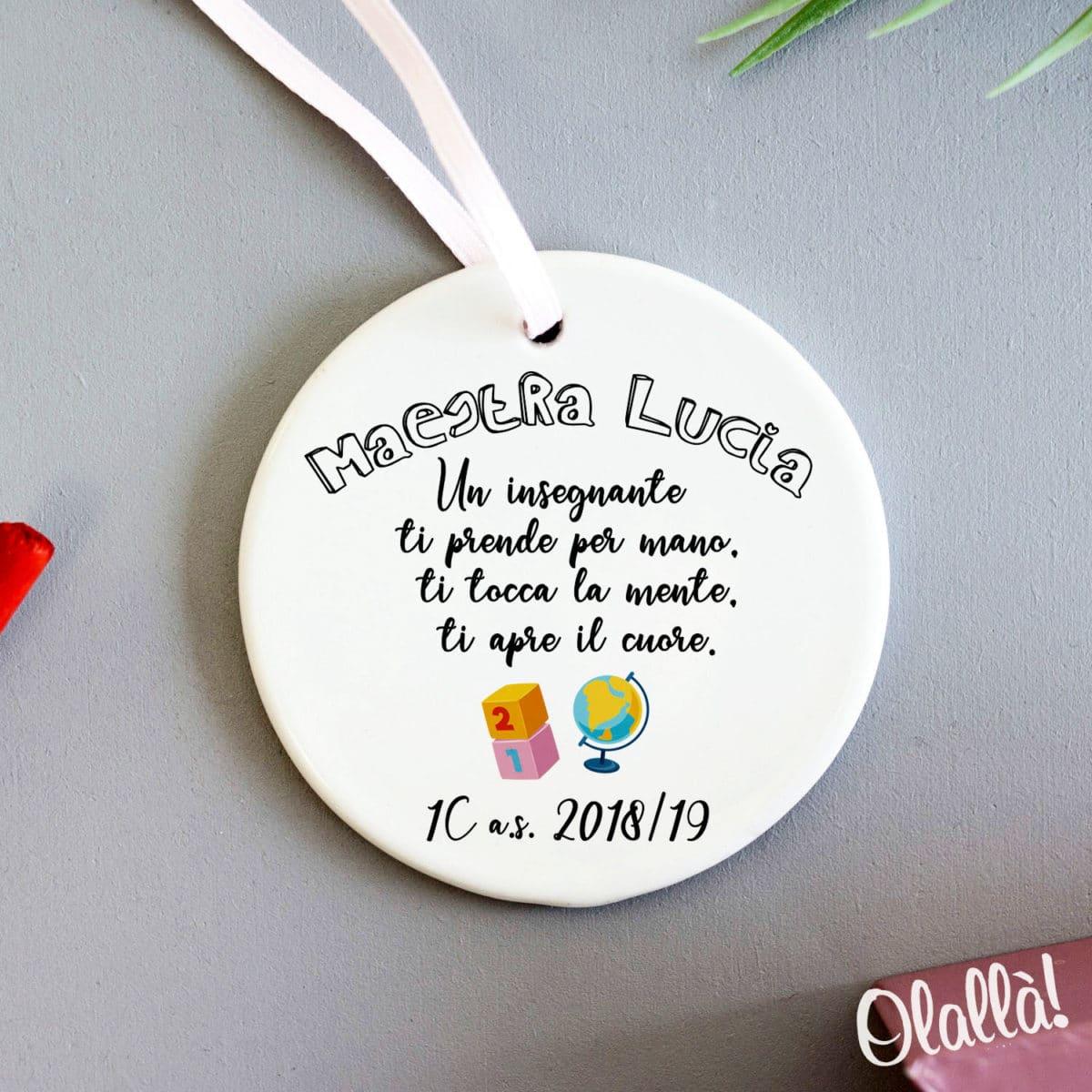 decorazione-personalizzata-ceramica-maestra-regalo