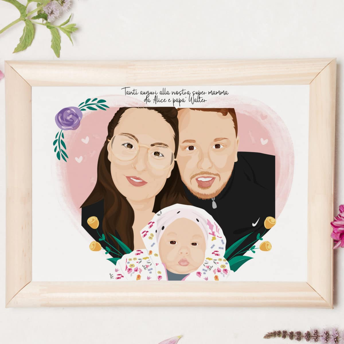 ritratto-digitale-nuova-nascita-regalo-personalizzato