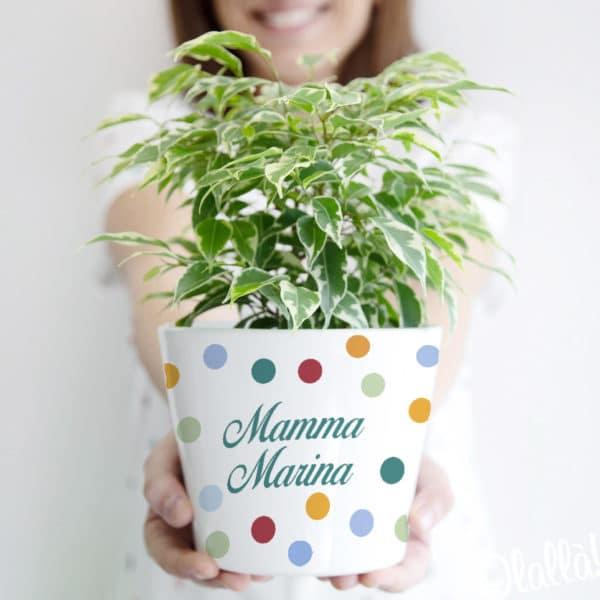 vaso-personalizzato-pallini-mamma-regalo