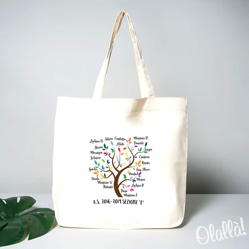 shopper-albero-nomi-regalo-maestra-personalizzabile-3