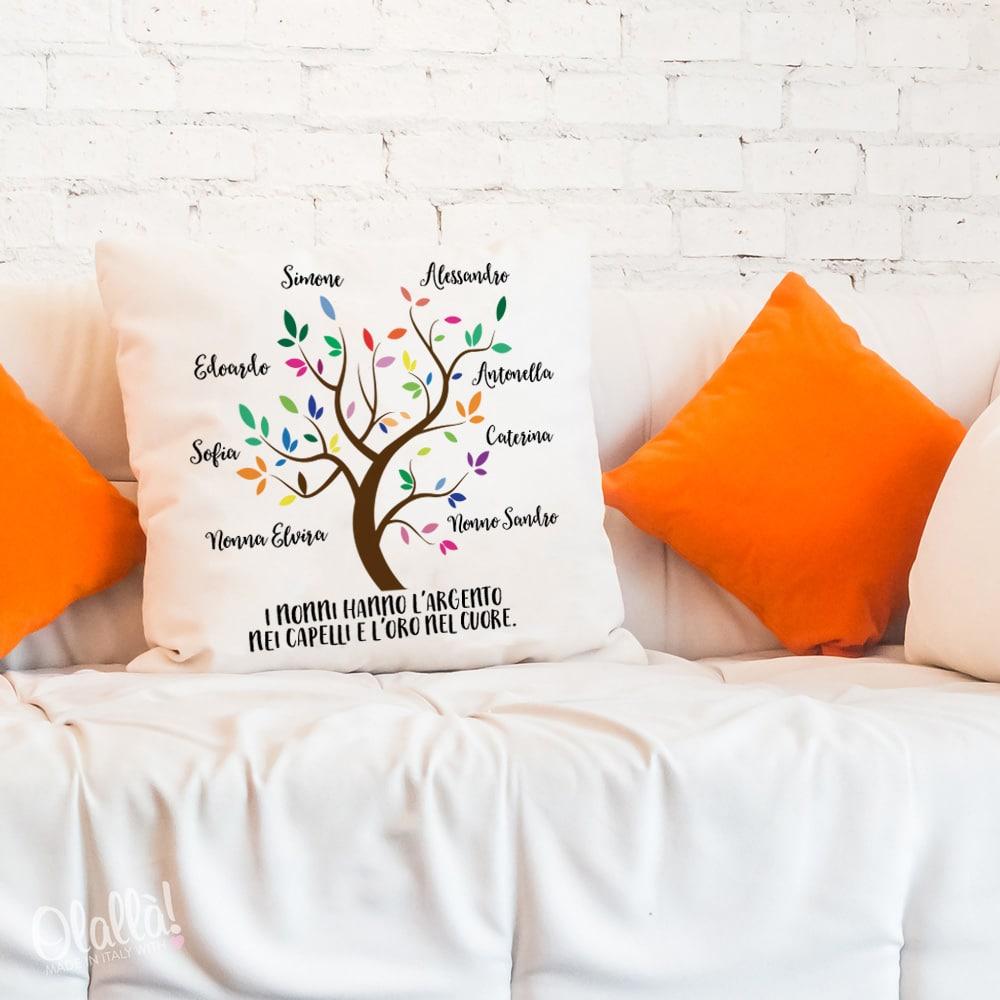 cuscino-personalizzato-regalo-nonni-albero