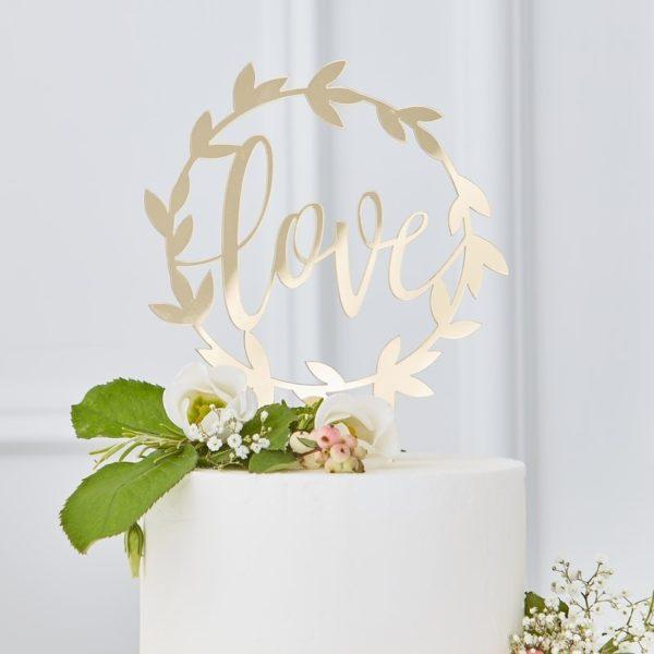 cake-topper-oro-decorazione-matrimonio