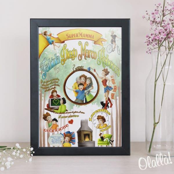 illustrazione-personalizzata-supermamma-idea-regalo-2