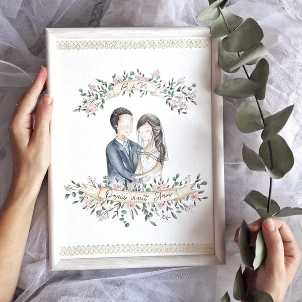 ritratto-fumetto-personalizzato-regalo-matrimonio-1