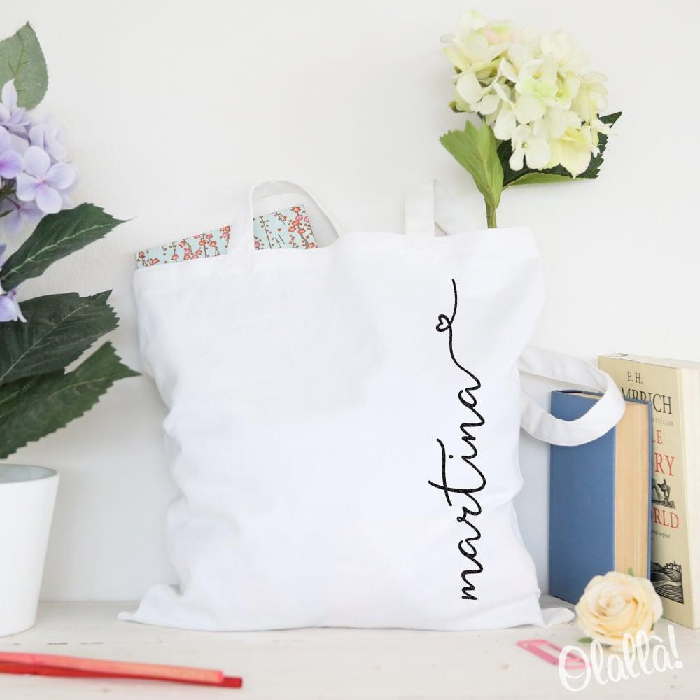 shopper-nome-svolazzante-regalo-personalizzata