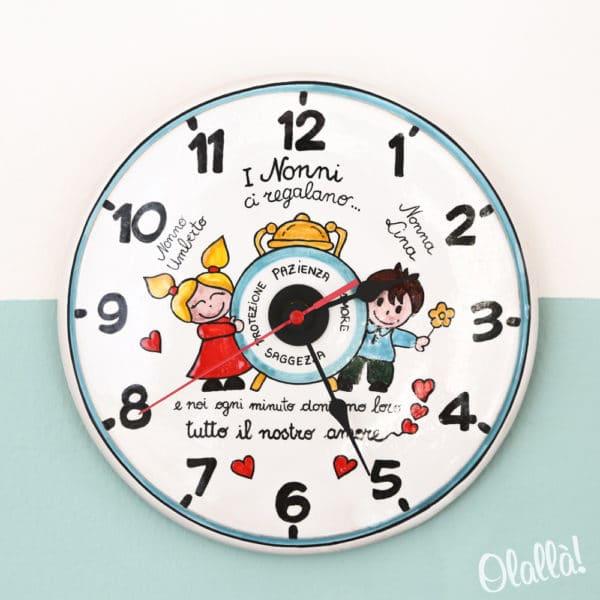 orologio-ceramica-dipinto-nonni-idea-regalo
