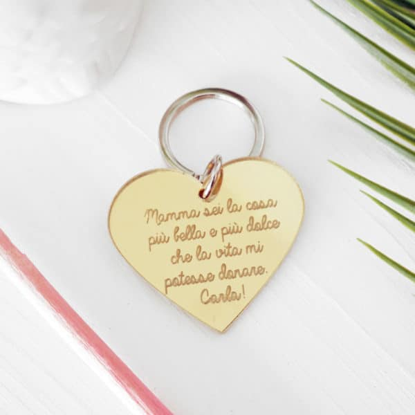 portachiavi-cuore-personalizzato-frase-plexiglass-oro