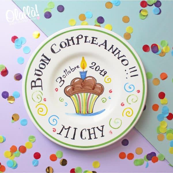 piatto-torta-personalizzato-regalo-compleanno-ceramica