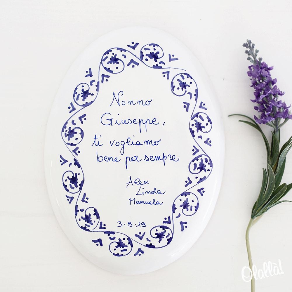 targhetta-ceramica-personalizzata-ricordo-famiglia-1