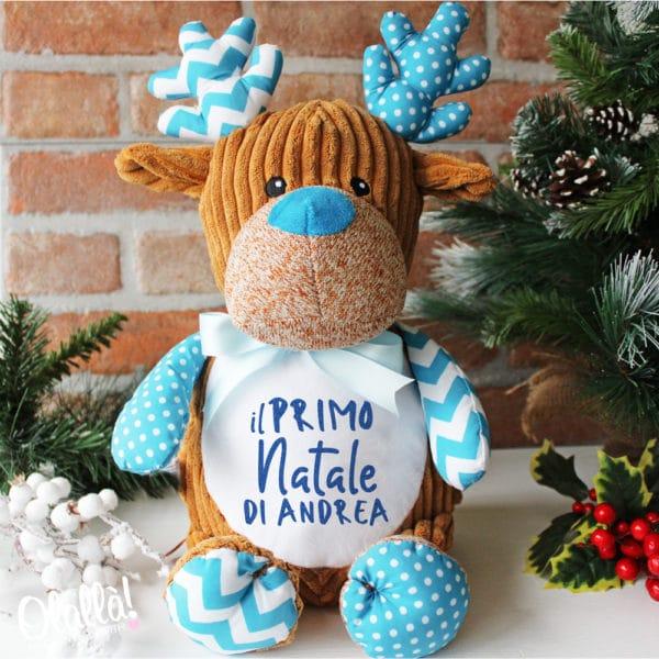peluche-renna-azzurra-personalizzato-primo-natale