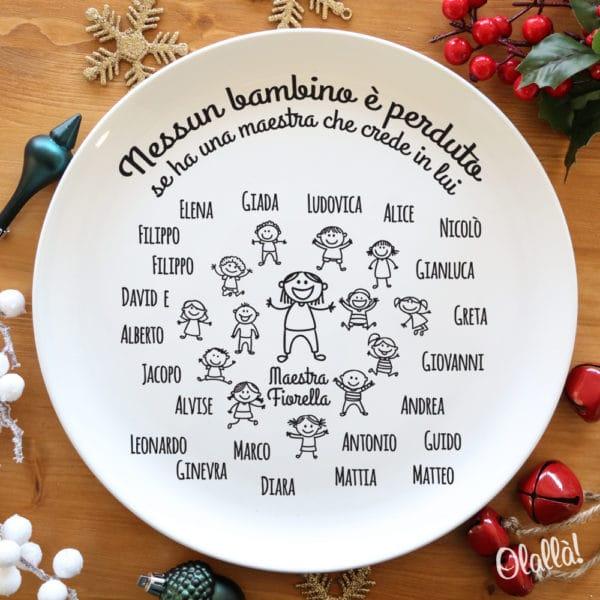 piatto-ceramica-natale-bambini-regalo-maestra