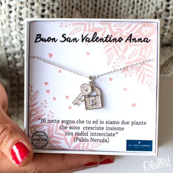Collana-Lucchetto-Chiave-Swarovsky-San-Valentino