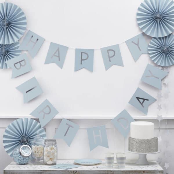 Festone-Happy-Birthday-Celeste-Argento-Da-Appendere