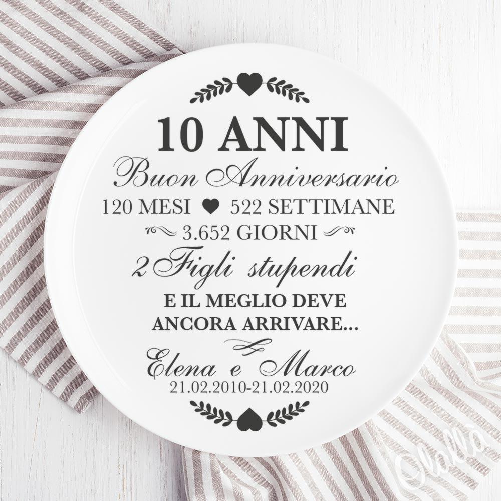 Anniversario 10 Anni Di Matrimonio.Regali Di Anniversario Personalizzati Ed Originali Stupisci Con