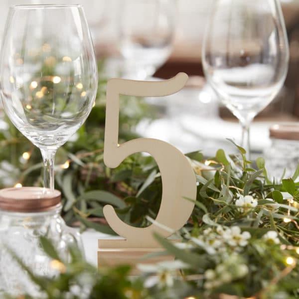 Segnatavolo-Numeri-Matrimonio-Legno