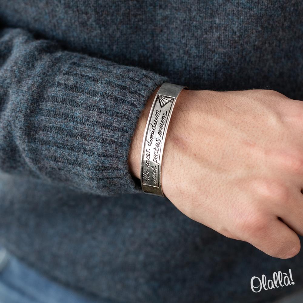 bracciale-personalizzato-regalo-uomo-argento-2