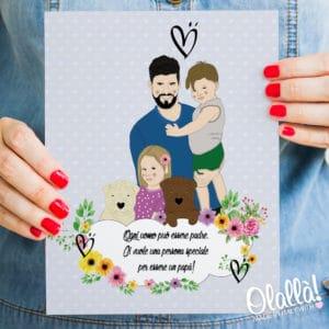ritratto-famiglia-regalo-festa-papa