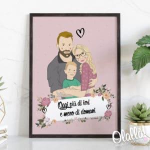 ritratto-illustrazione-digitale-famiglia-dedica-amore