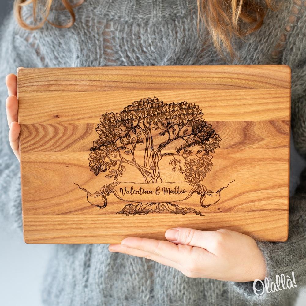 tagliere-legno-albero-della-vita