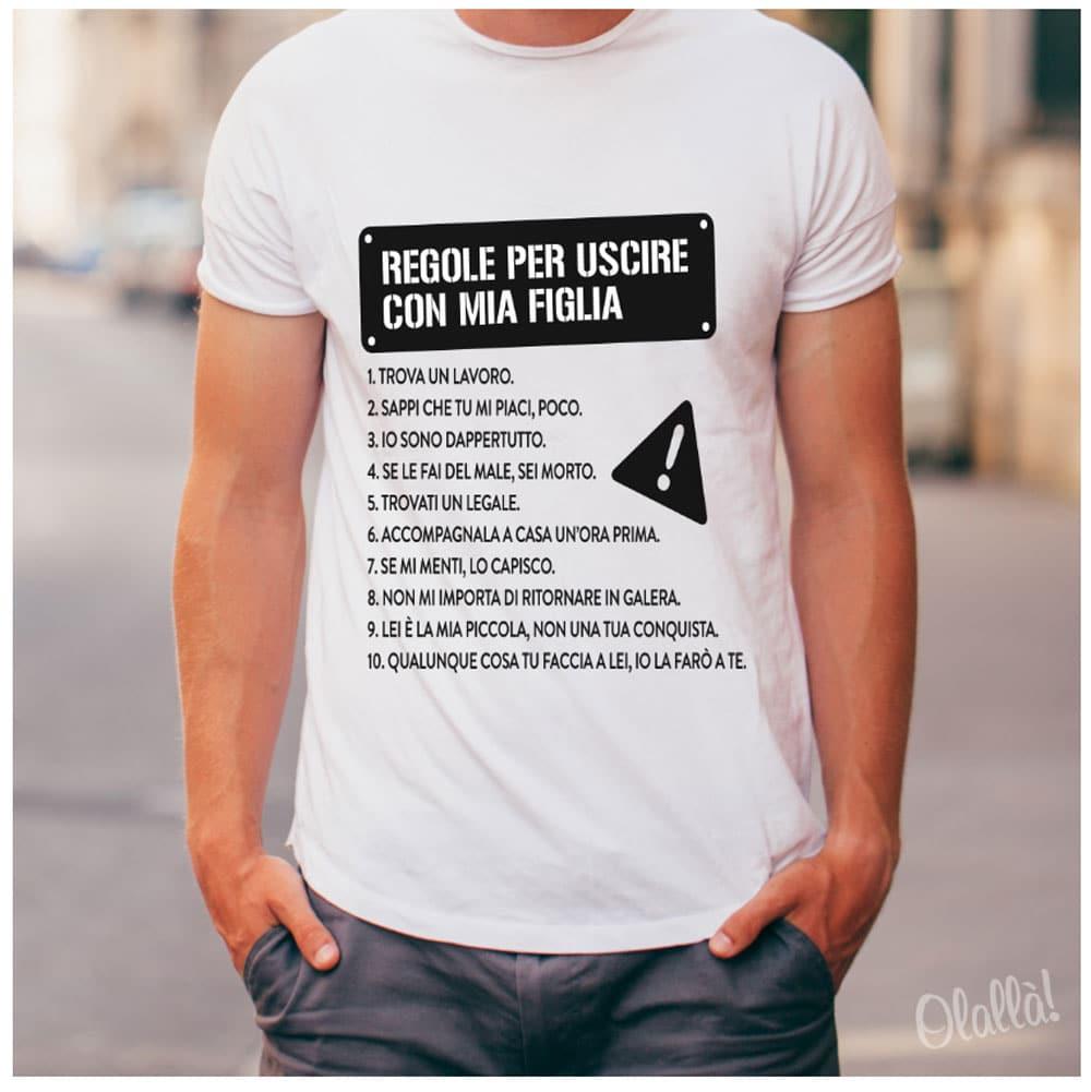 maglietta-regole-papa-uscire-figlia
