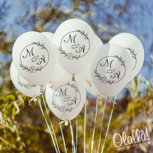 palloncini-personalizzabili-iniziali-ghirlanda-matrimonio