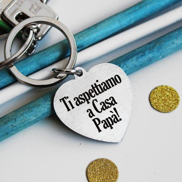 portachiavi-papa-cuore-acciaio-personalizzato
