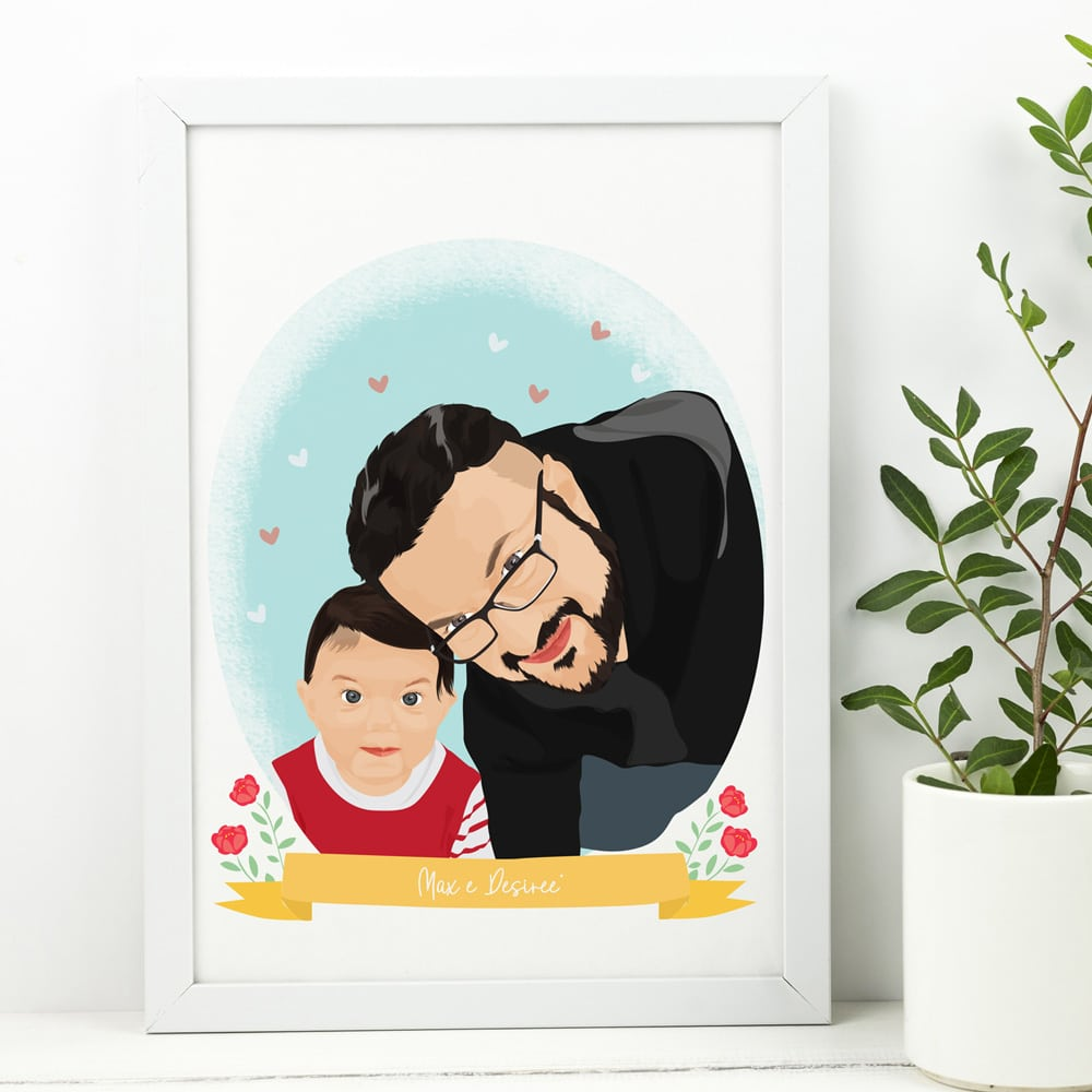ritratto-personalizzato-festa-del-papa-regalo