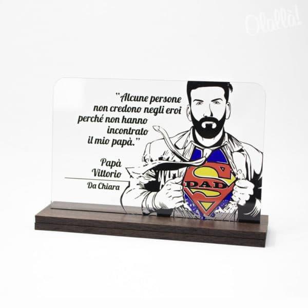 targa-papa-superman-trasparente-personalizzata