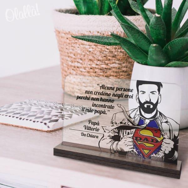 targa-papa-superman-trasparente-personalizzata1