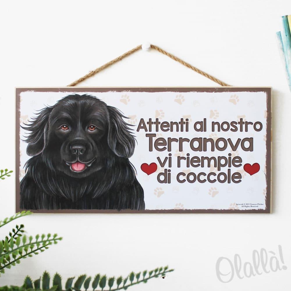 targhetta-cane-razza-terranova