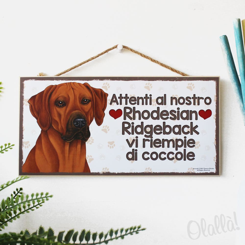targhetta-cane-rhodesian-ridgeback