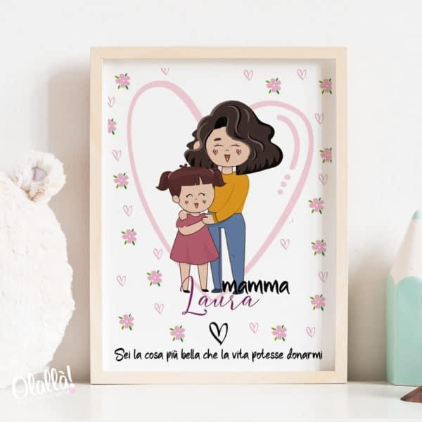 illustrazione-disegno-bambina-mamma-su-misura