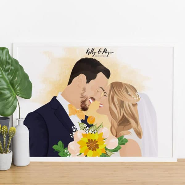 ritratto-sposi-personalizzato-da-foto1