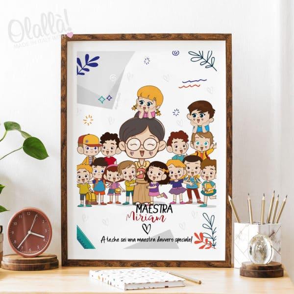illustrazione-personalizzata-maestra-ritratto-bambini-2