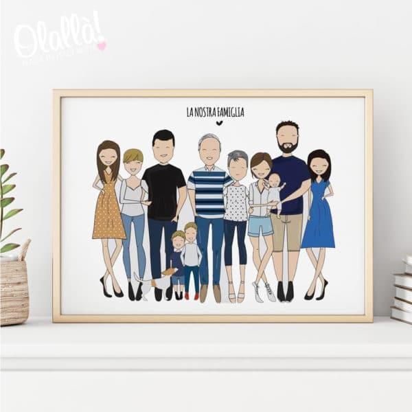 ritratto-famiglia-illustrazione-personalizzata