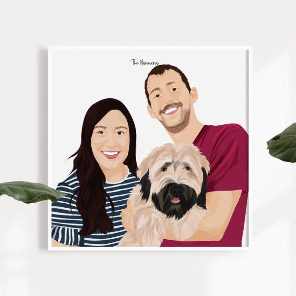 ritratto-padrone-cane-amici-animali-personalizzato-digitale