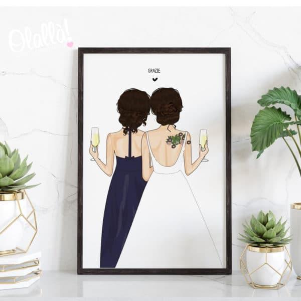 ritratto-spalle-testimoni-regalo-illustrazioni-amiche452