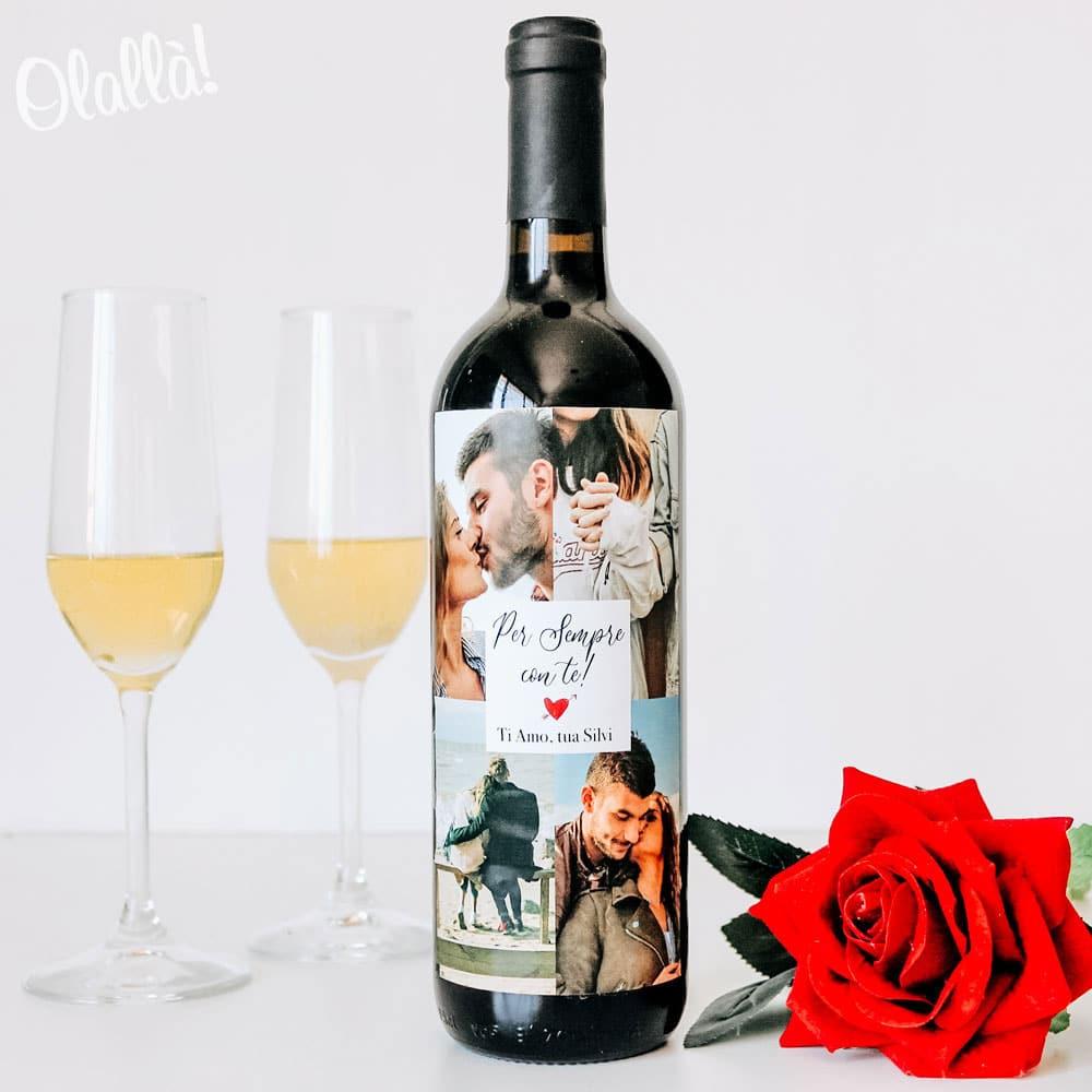 Bottiglia-personalizzata-anniversario-collage-foto