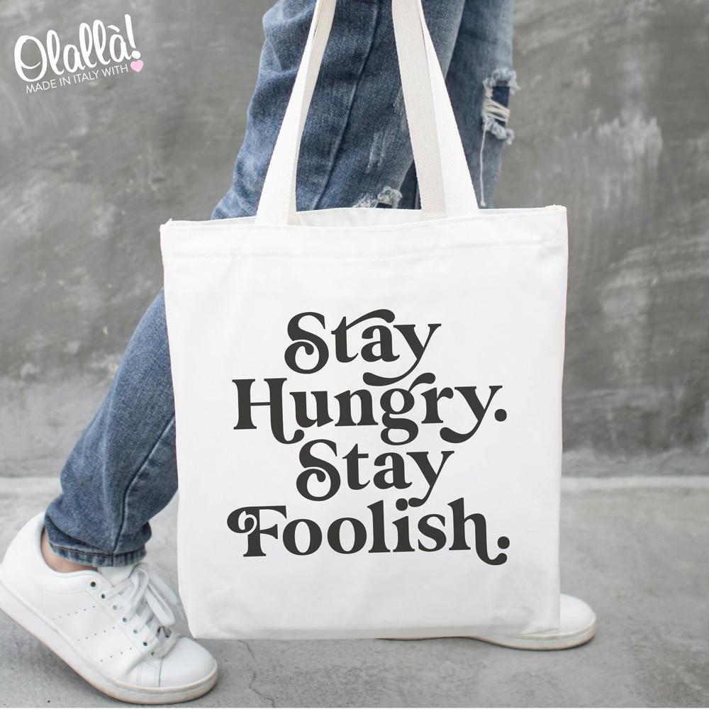 borsa-tela-personalizzata-stay-hungry-stay-foolish