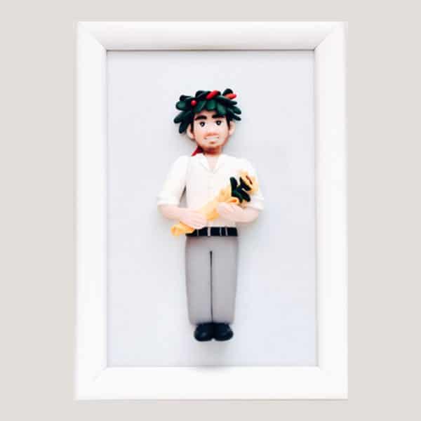quadretto-personaggio-fimo-regalo-laurea-4
