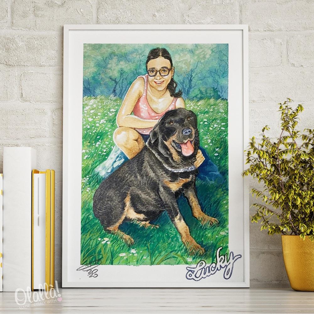 ritratto-cane-donna-animale-su-misura-foto