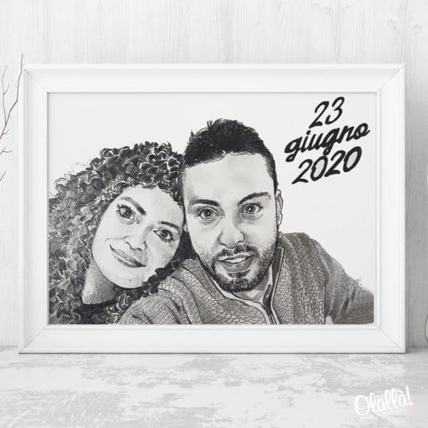 ritratto-coppia-bianco-nero-anniversario-su-misura-data