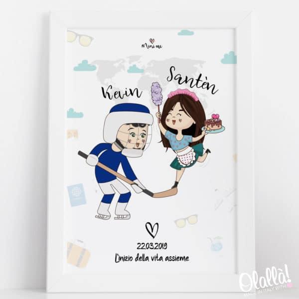 ritratto-digitale-cartoon-coppia-convivenza