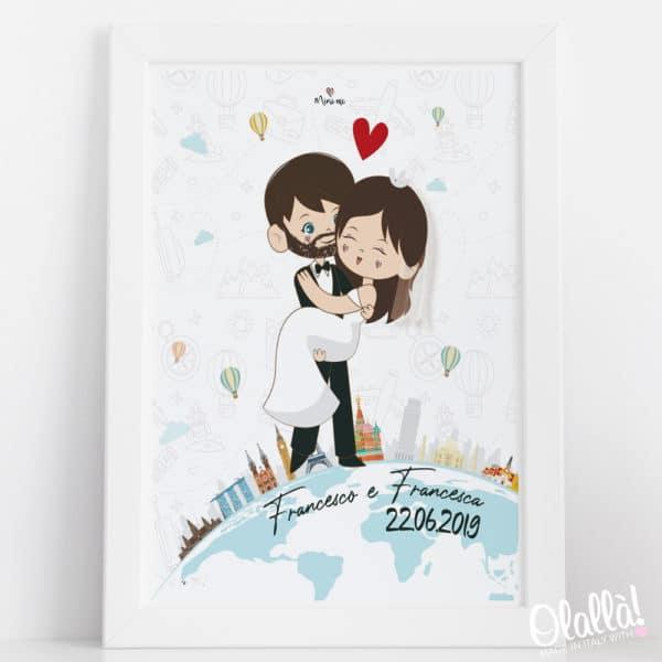 ritratto-digitale-coppia-sposi-mondo