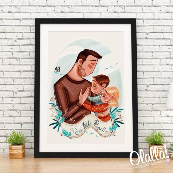 ritratto-illustrazione-personalizzato-regalo-papa