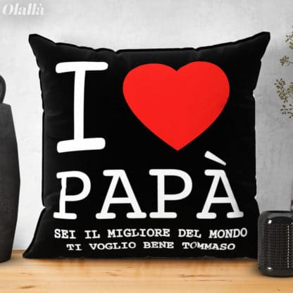 cuscino-love-papa-personalizzato