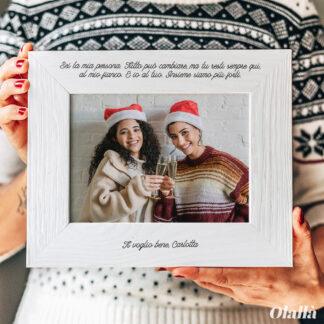 cornice-regalo-natale-amica-personalizzata