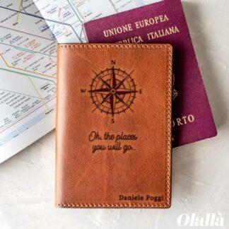 porta-passaporto-pelle-rosa-venti-personalizzato-regalo-laurea-natale-compleanno